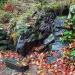 Le fonti d'acqua lungo la passeggiata