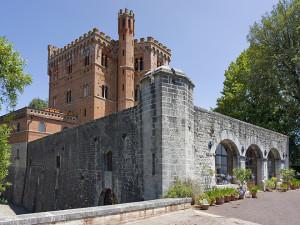 Bellezze del Chianti - il castello di Brolio