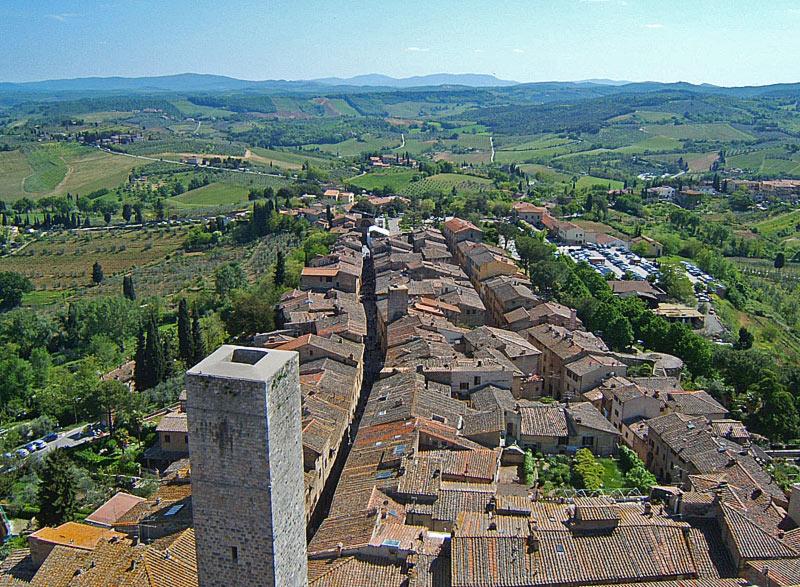 San Gimignano, veduta