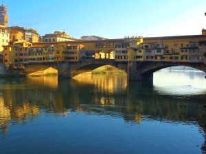 Vista sul Ponte Vecchio