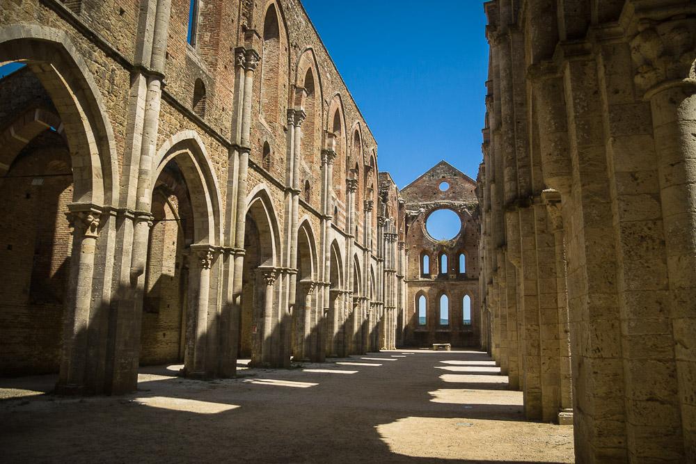 L'abbazia di San Galgano