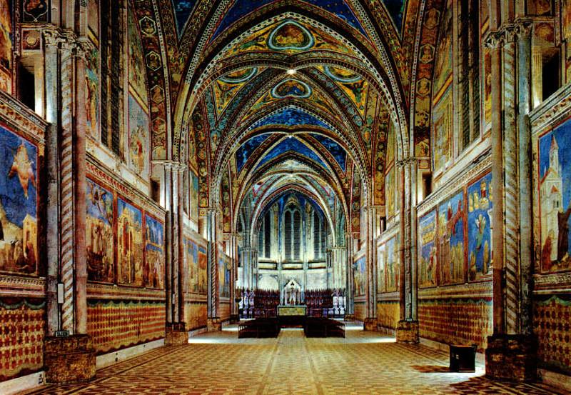 La Basilica di San Francesco d'Assisi