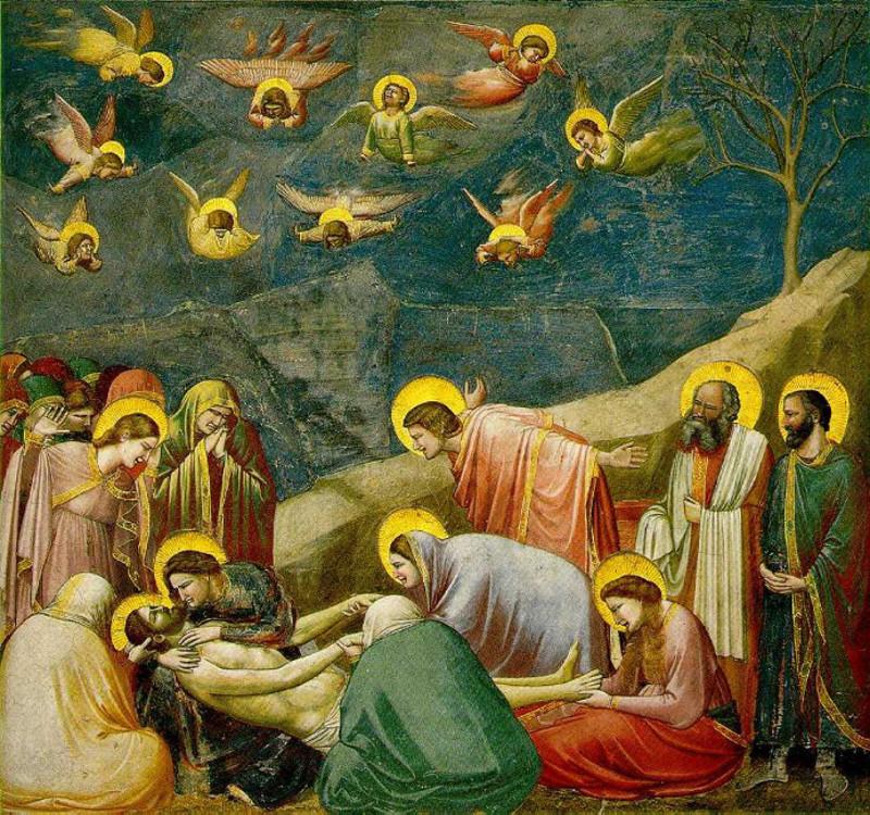 Il Compianto sul Cristo morto, Cappella degli Scrovegni