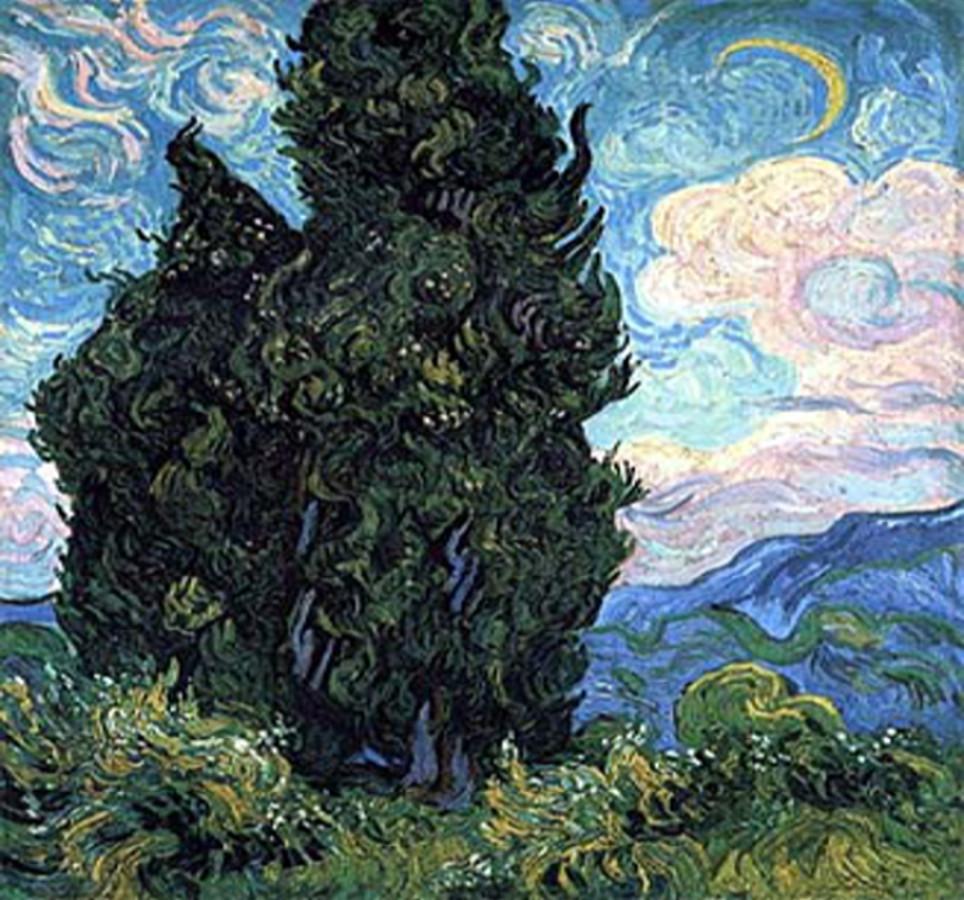 Van Gogh, I Cipressi (1889)