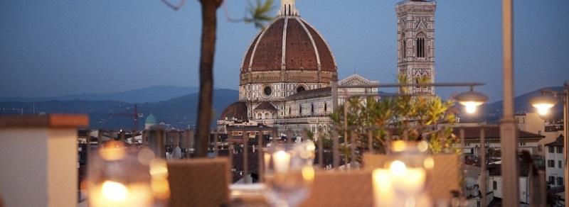 Vista su Firenze da Terrazza Brunelleschi