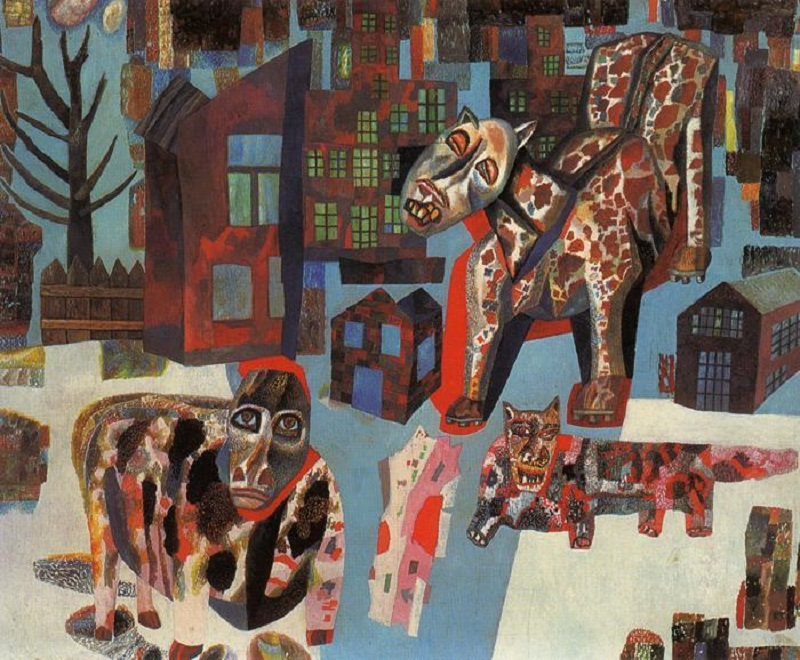 Pavel Filonov-Animals