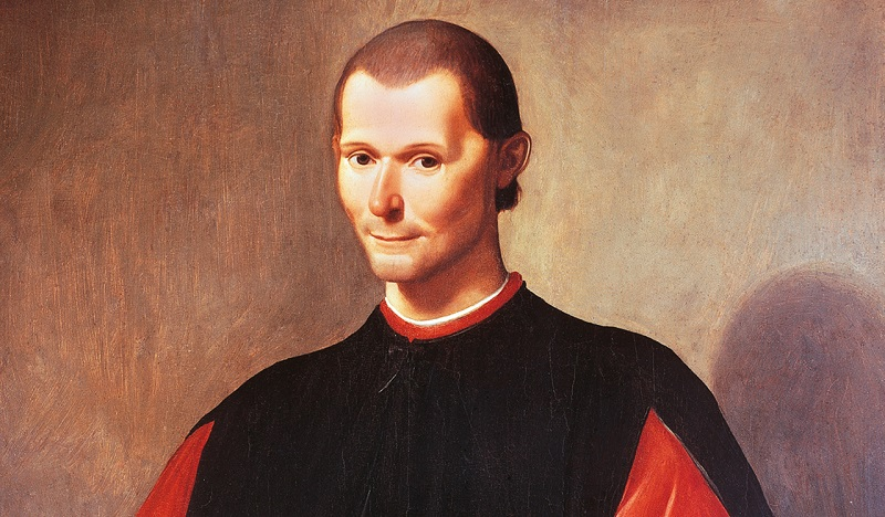 Portrait of Niccolo' Machiavelli