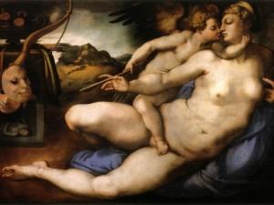Pontormo,_venere_e_amore_da_michelangelo,_1533_ca._01