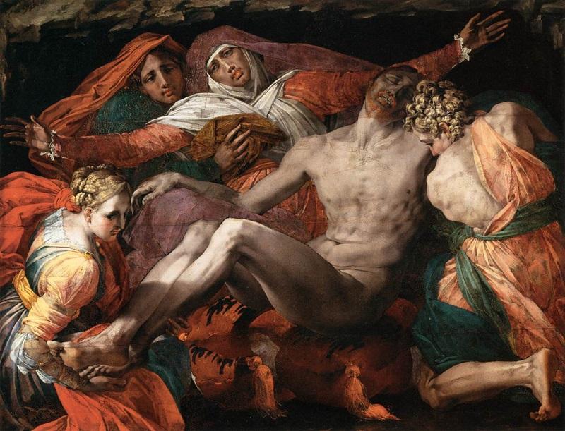La Pietà - Rosso Fiorentino