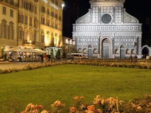 La splendida cornice di Piazza Santa Maria Novella