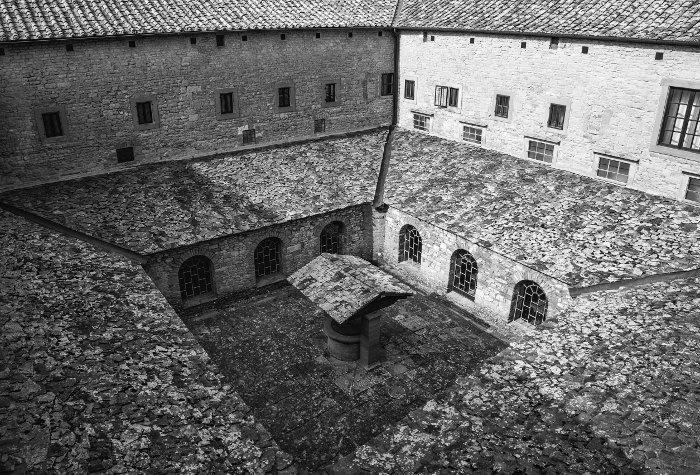 La Verna - Il chiostro principale