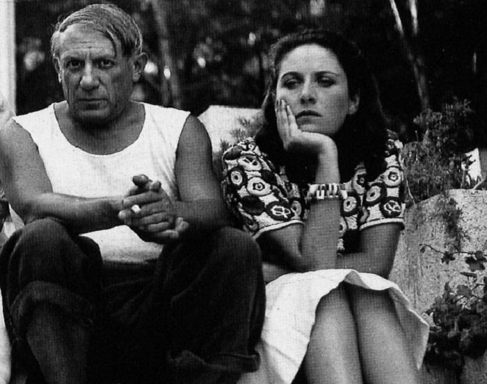 Pablo Picasso con Dora Maar