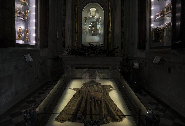 la Verna - la cappella delle reliquie di San Francesco