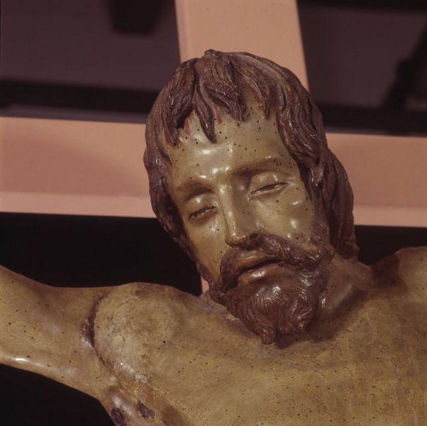 Crocifisso di Donatello restaurato dall'Opificio delle Pietre Dure, conservato nella Basilica di Santa Croce