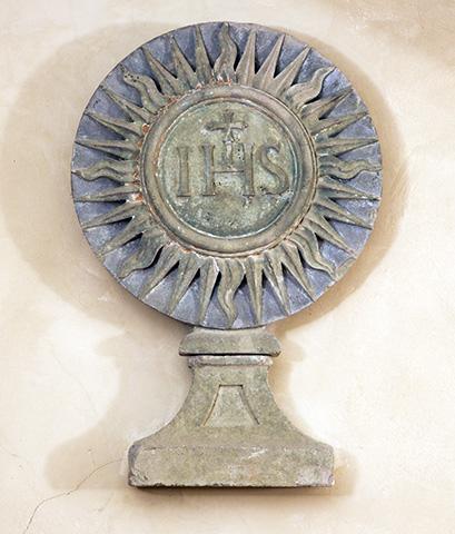 Santa-maria-delle-Grazie-Lo-stemma-di-San-Bernardino